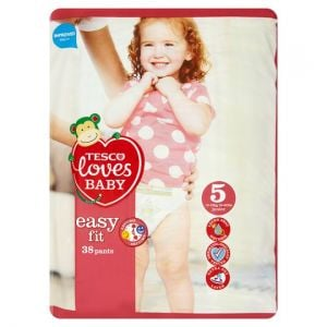 Tesco Loves Baby Easy Fit Pants Size 5 Junior 38