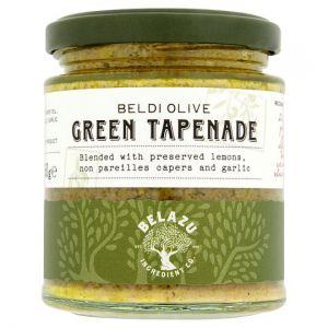 Belazu Beldi Green Olive Tapenade 160g