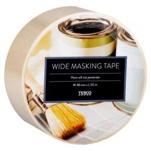 Tesco Wide Masking Tape
