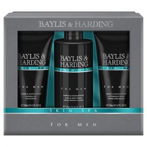 Baylis and Harding Skin Spa Mens 3 Piece Set