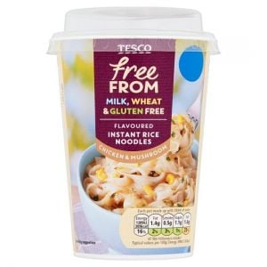 Tesco Free From Chicken & Mushroom Noodle 75g
