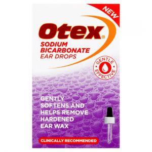 Otex Sodium Bicarbonate Ear Drops 10ml