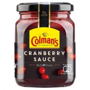 Colmans Sauce Jar Cranberry 165g