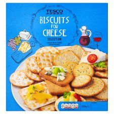 Tesco Biscuits For Cheese 500g