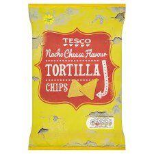 Tesco Nacho Cheese Tortilla Chips 200g