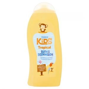 Tesco Kids Tropical Bath & Bodywash 500ml