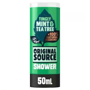 Original Source Mint & Tea Tree Shower Gel 50ml