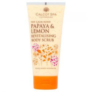 Calcot Manor Papaya & Lemon Scrub 200ml