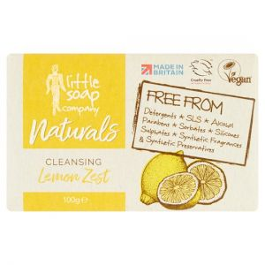Little Soap Company Natural Bar Soap Cleansing Lemon 100g