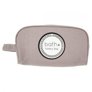 H&A Bath Essentials Grey Toiletry Bag
