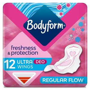 Bodyform Ultra Scented Normal Wing Sanitary Towels 12 Pack