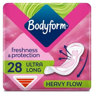 Bodyform Ultra Normal Wing Sanitary Towels 28 Pack