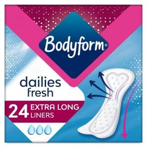Bodyform Extra Long Panty Liners 24 Pack