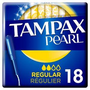 Tampax Pearl Regular Applicator Tampons 18