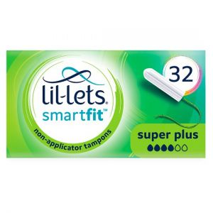 Lil Lets Non Applicator Super Plus Tampons 32 Pack