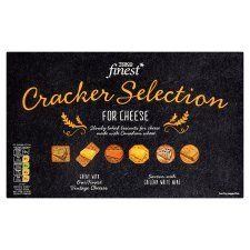 Tesco Finest Assorted Cracker For Cheese 250g