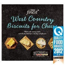 Tesco Finest West Country Biscuits For Cheese 300g