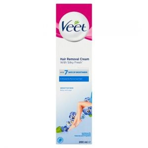 Veet 5 Minute Sensitive Hair Removal Cream 200ml
