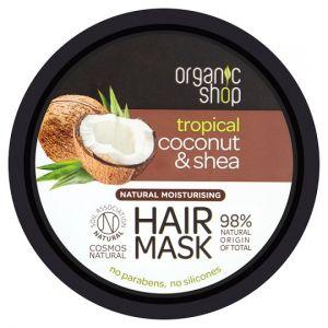 Organic Shop Coconut and Shea Hair Mask 250ml