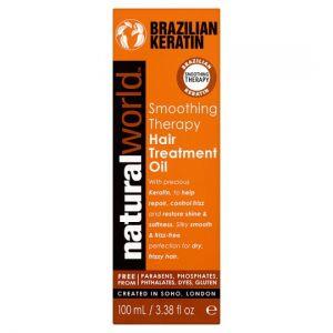 Natural World Brazilian Hair Treatment Oil 100ml