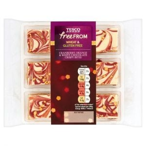 Tesco Free From 9 C/Berry, Orange and Chocolate Crispy Bite