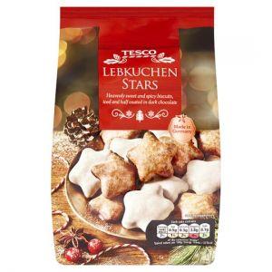 Tesco Lebkuchen Iced Stars 250g