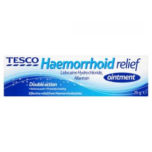 Tesco Haemorrhoid Relief Ointment 25g