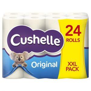 Cushelle Toilet Tissue 24 Roll White