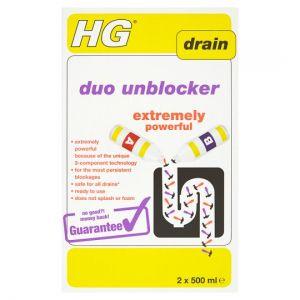 Hg Duo Unblocker 2 x 500ml