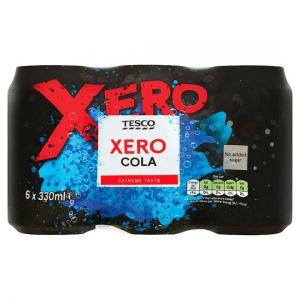 Tesco Xero Cola 6x330ml