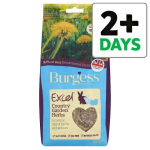 Burgess Excel Country Garden Herbs Animal Food 120g