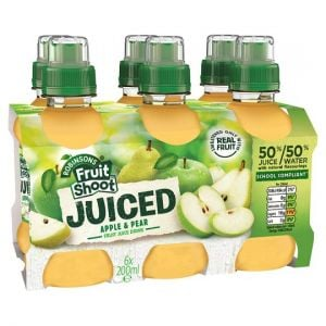 Fruit Shoot Juiced Apple and Pear 6 X 200 ml