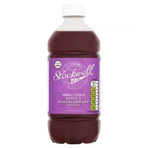 Stockwell & Co Apple & Blackcurrant No Added Sugar Squash 750ml