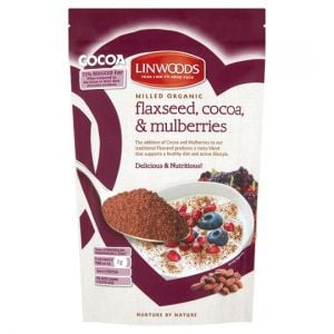 Linwoods Flax Cocoa and Mulberries 200g