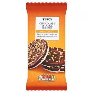 Tesco Dark Chocolate & Orange Rice Cakes 108g