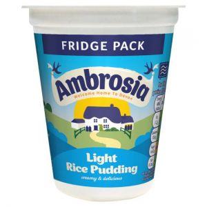 Ambrosia Light Rice Pudding Pot 400g