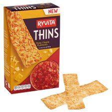 Ryvita 3 Cheese Thins 125g