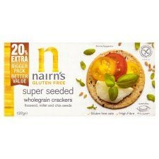 Nairn's Gluten Free Seeded Crackers 137g