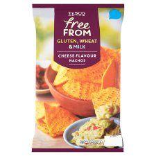 Tesco Free From Cheese Flavour Nachos 200g