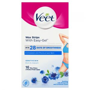 Veet Ready To Use Wax Strips Bikini and Underarm 16'S
