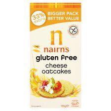 Nairns Gluten Free Cheese Oatcake 180g