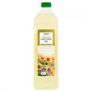 Tesco Organic Sunflower Oil 1L