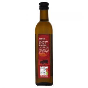 Tesco Spanish Extra Virgin Olive Oil 500ml
