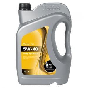Tesco 5W40 Fully Synthetic Oil 4L
