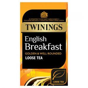 Twinings English Breakfast Leaf Tea 125g