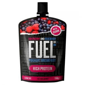 Fuel Raspberry and Blueberry Quark Fruit Pouch 150g