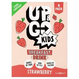 Up and Go Kids Strawberry Drink 4 X 180ml