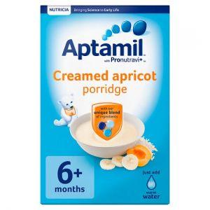 Aptamil Creamed Apricot Porridge 125g 6 Month Plus