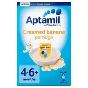 Aptamil Creamed Banana Porridge 125g 4 Month Plus