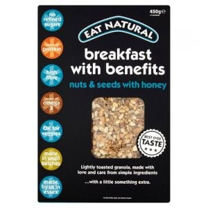 Eat Natural Breakfast Benefits Granola 450g